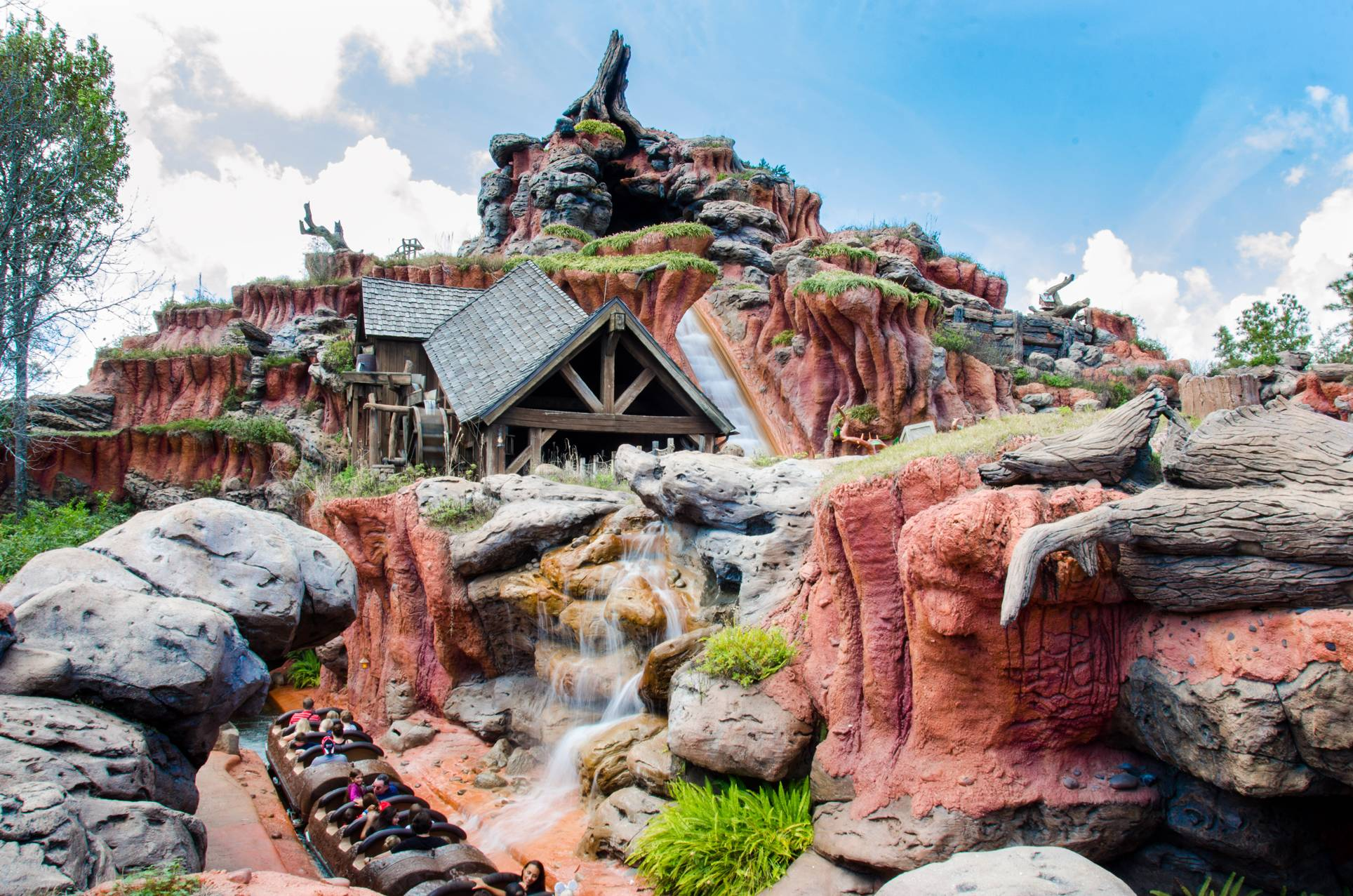 Splash Mountain no Magic Kingdom