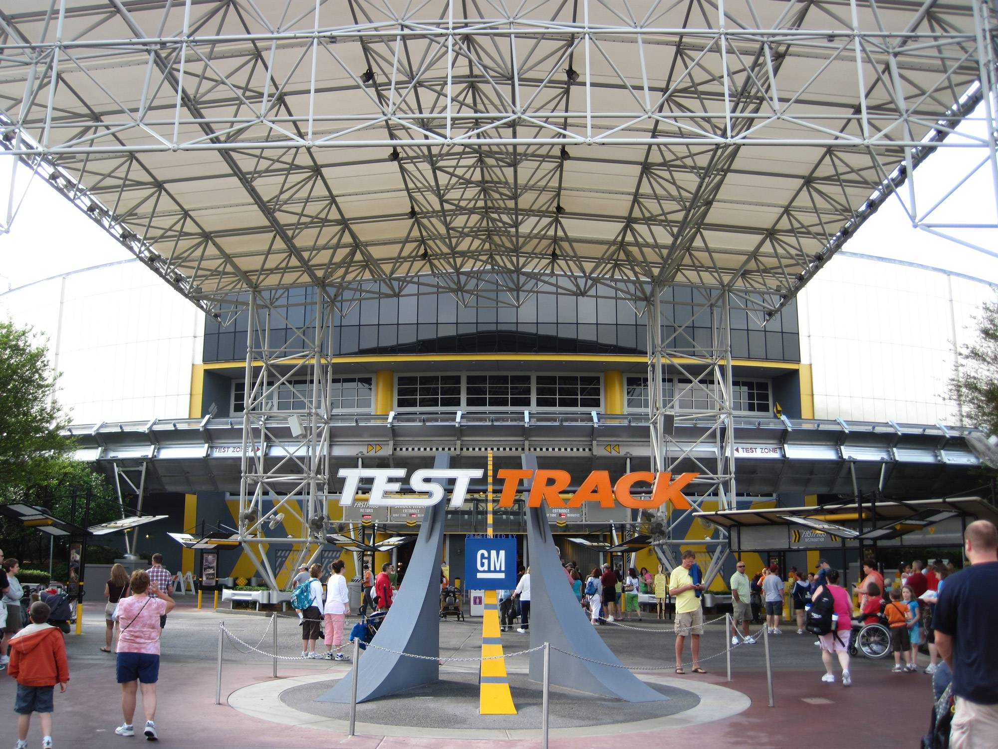 Test Track no Epcot