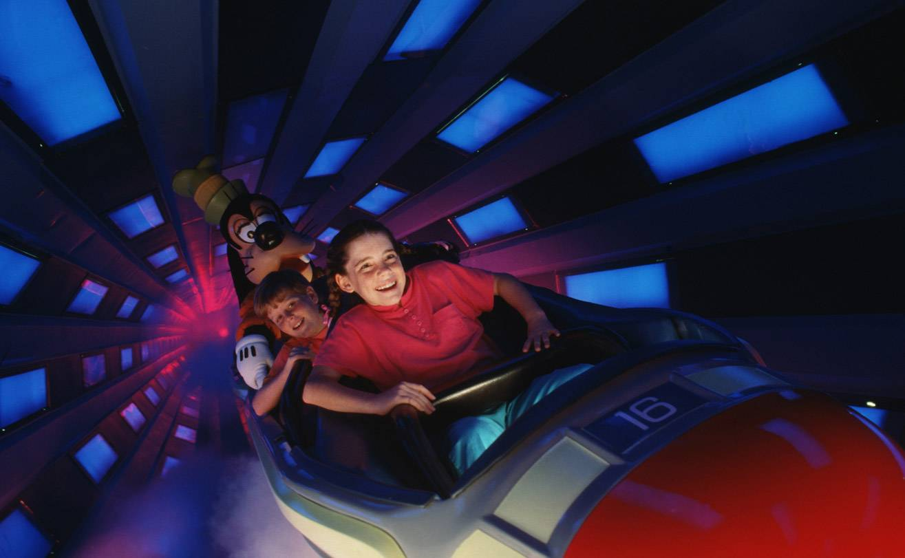 Space Mountain no Magic Kindgom