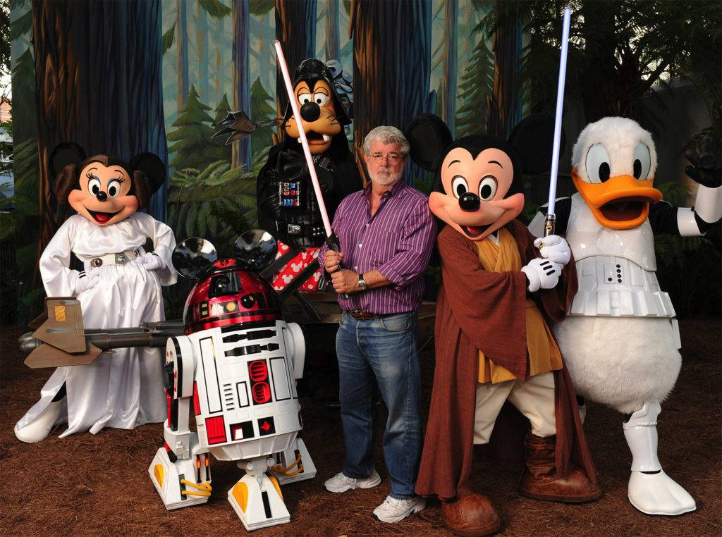 Disney para adultos StarWars Califórnia