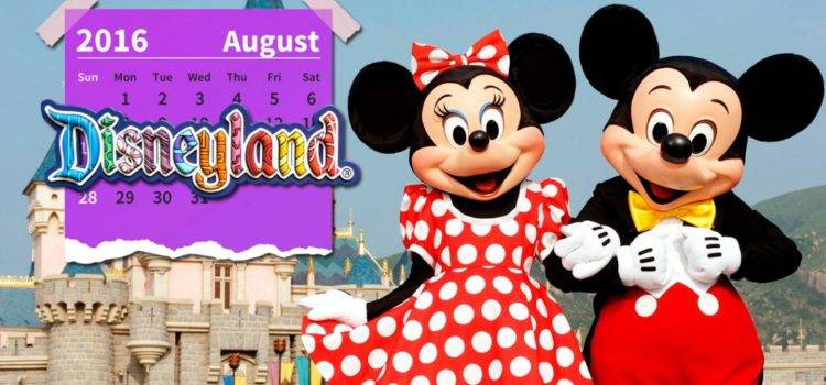 Disney Agosto