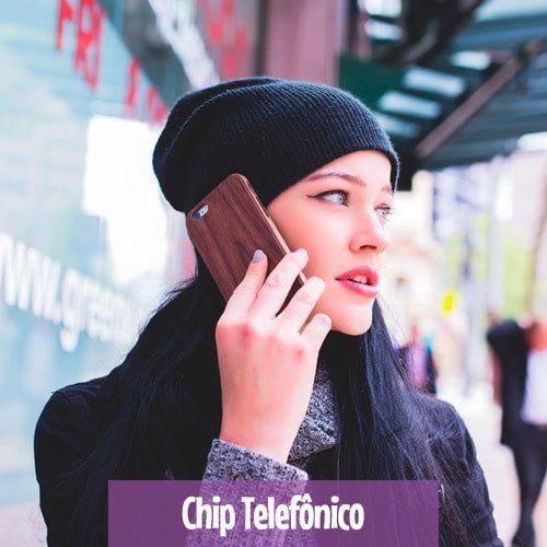 Chip Telefonico internacional - Orlando, Nova York e Europa