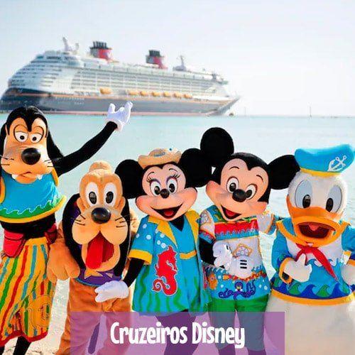 Grupos de Excursões nos Cruzeiros Disney - Orlando, Nova York e Europa