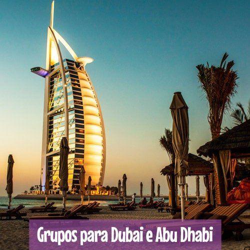 Grupos de Excursões para Dubai - Orlando, Nova York e Europa