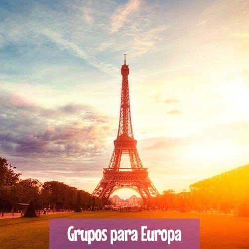Grupos de Excursões para Europa - Orlando, Nova York e Europa