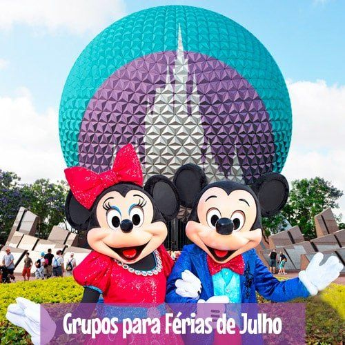 Grupos de Excursões para Disney na Férias de Julho - Orlando, Nova York e Europa