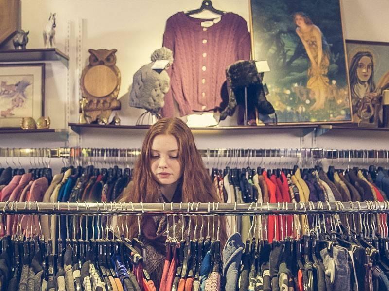 explore lojas vintage em NY