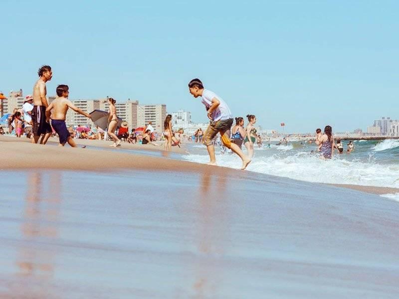 surfe na rockaway beach