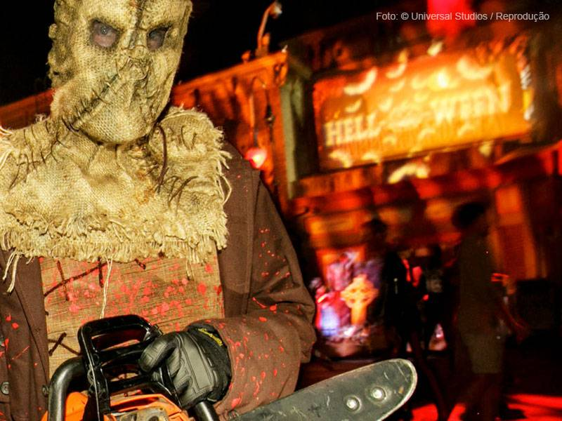 fantasia Halloween Horror Nights da Universal