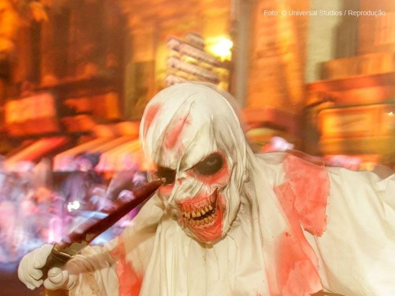 fantasia de halloween Horror Nights