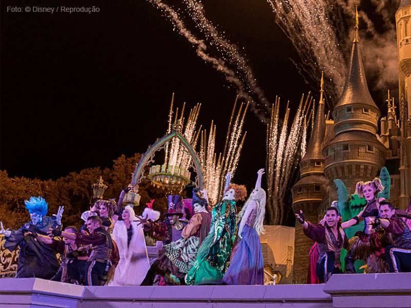 evento halloween na Disney