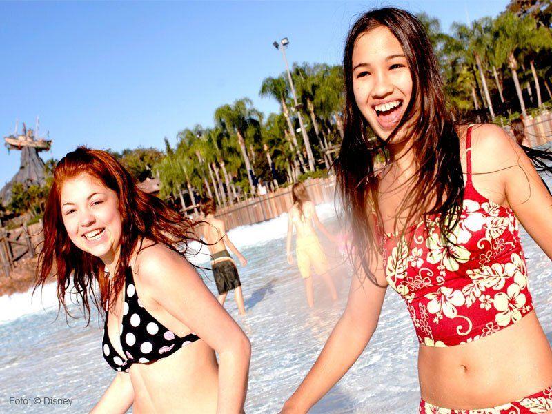 atração aquática da Disney