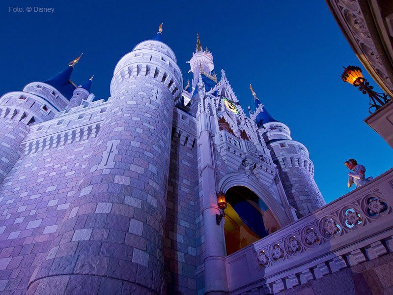 castelo da cinderela no walt disney world