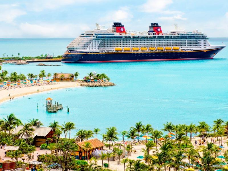ilha privada da disney - navios da frota da Disney