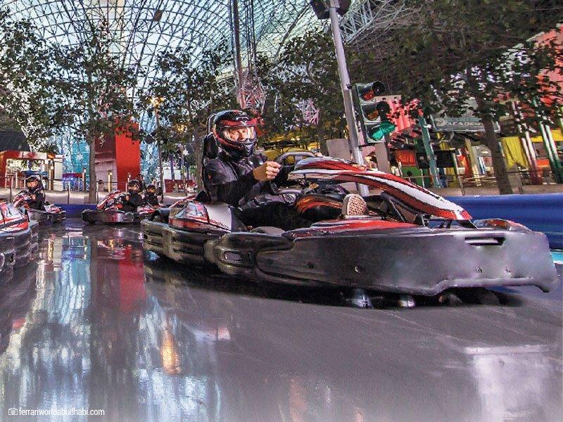 excursões para jovens Ferrari World