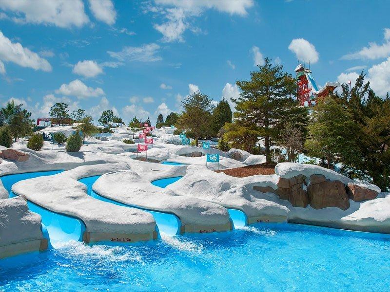 melhores parques aquáticos de Orlando - Onde fica o Blizzard Beach