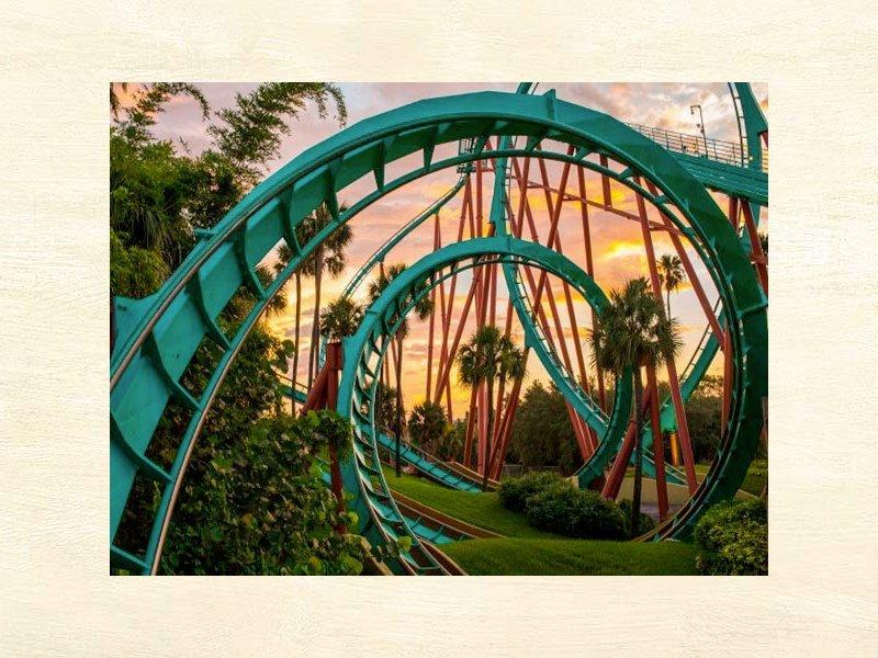 ingresso para o Busch Gardens
