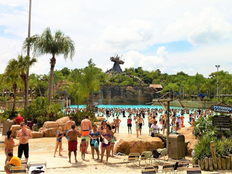 melhores parques aquáticos de Orlando - Onde fica o Typhoon Lagoon