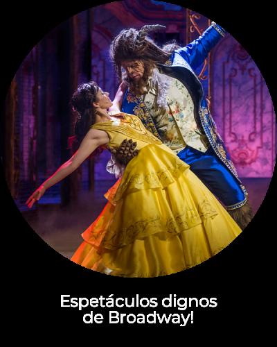 Espetáculos dignos de Broadway